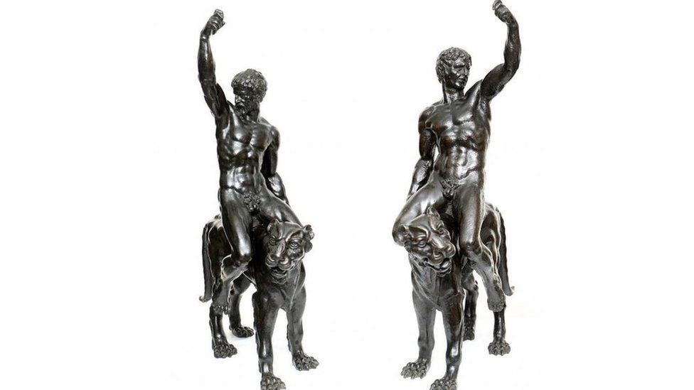 Michelangelo bronzes verified thanks to eight-pack stomach clue
