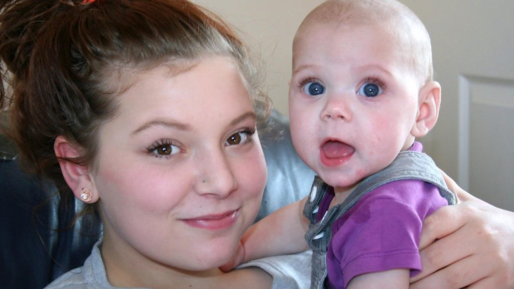 Pregnant at 14: 'I proved myself by getting good GCSEs