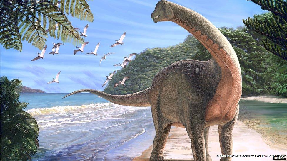 hvor levede dinosaurerne