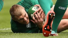 Ireland wing Keith Earls