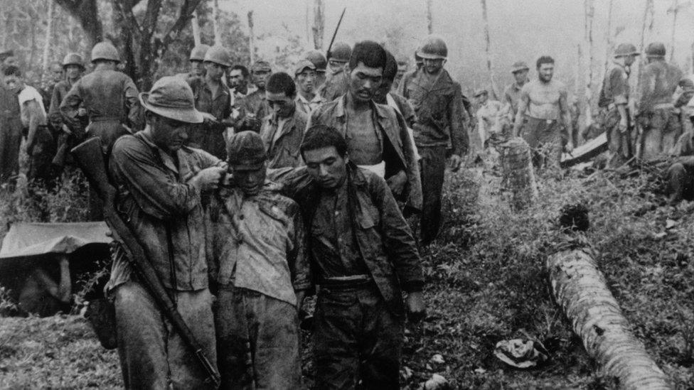 PoWs on Guadalcanal