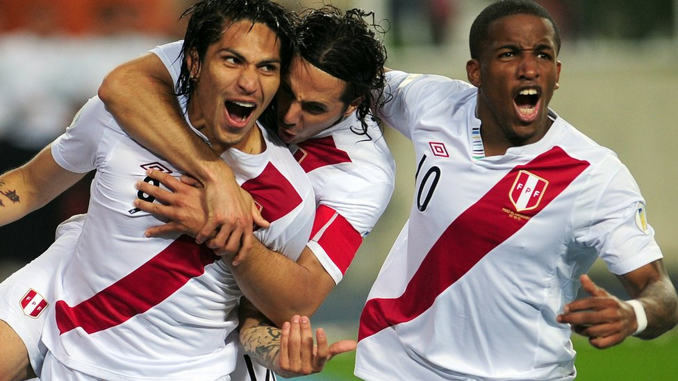 Guerrero, Pizarro y Farfán