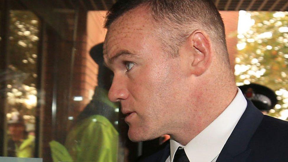 Wayne Rooney 'really enjoying' community service