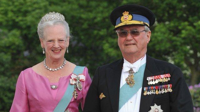 Reyes de Dinamarca