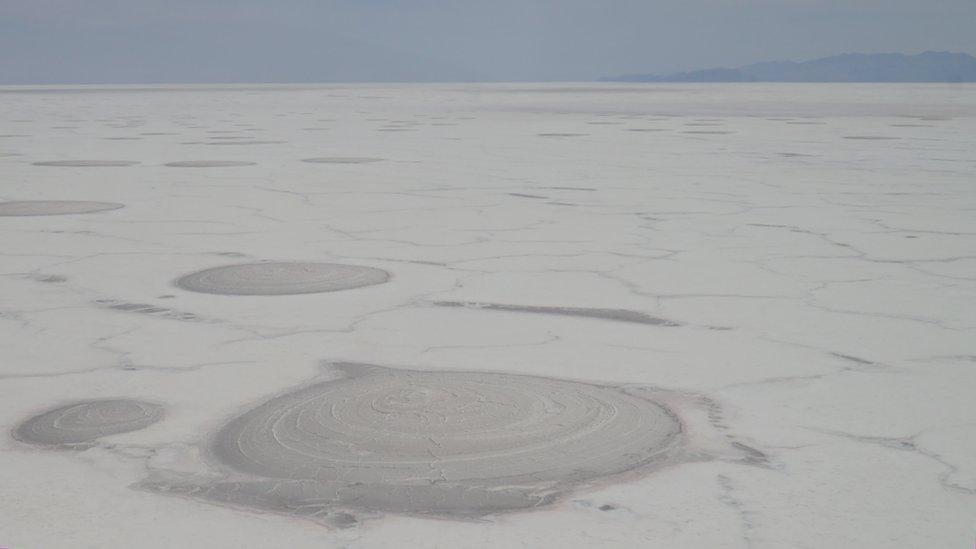 Capa de sal del Poopó