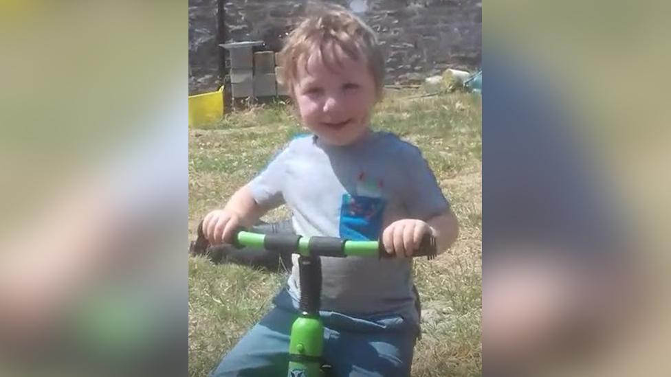 Boy, 3, dies in Llanybydder farm collision
