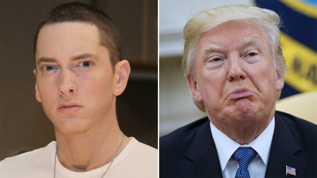 Eminem and Donald Trump