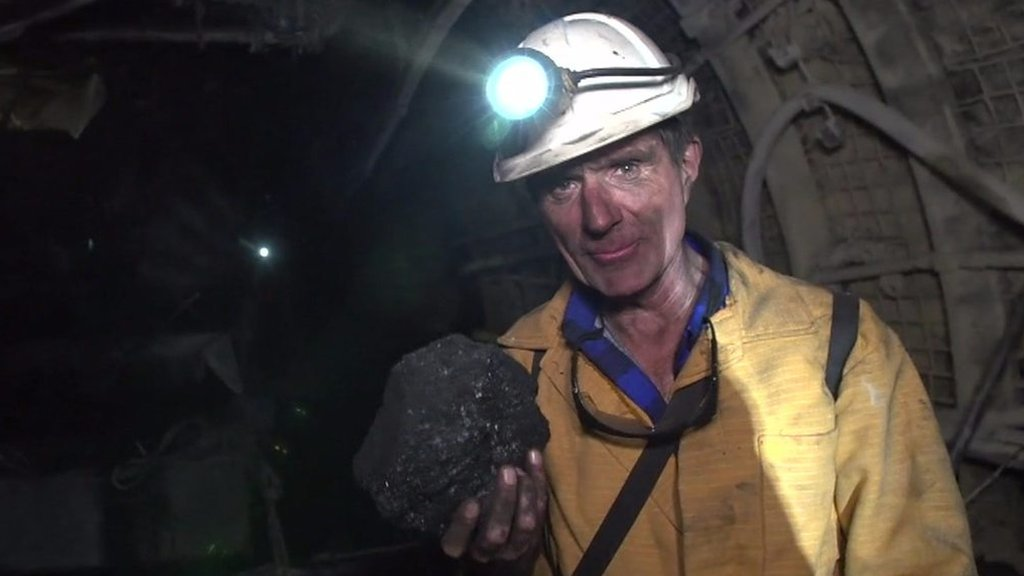 A journey underground into one of Poland's working mines