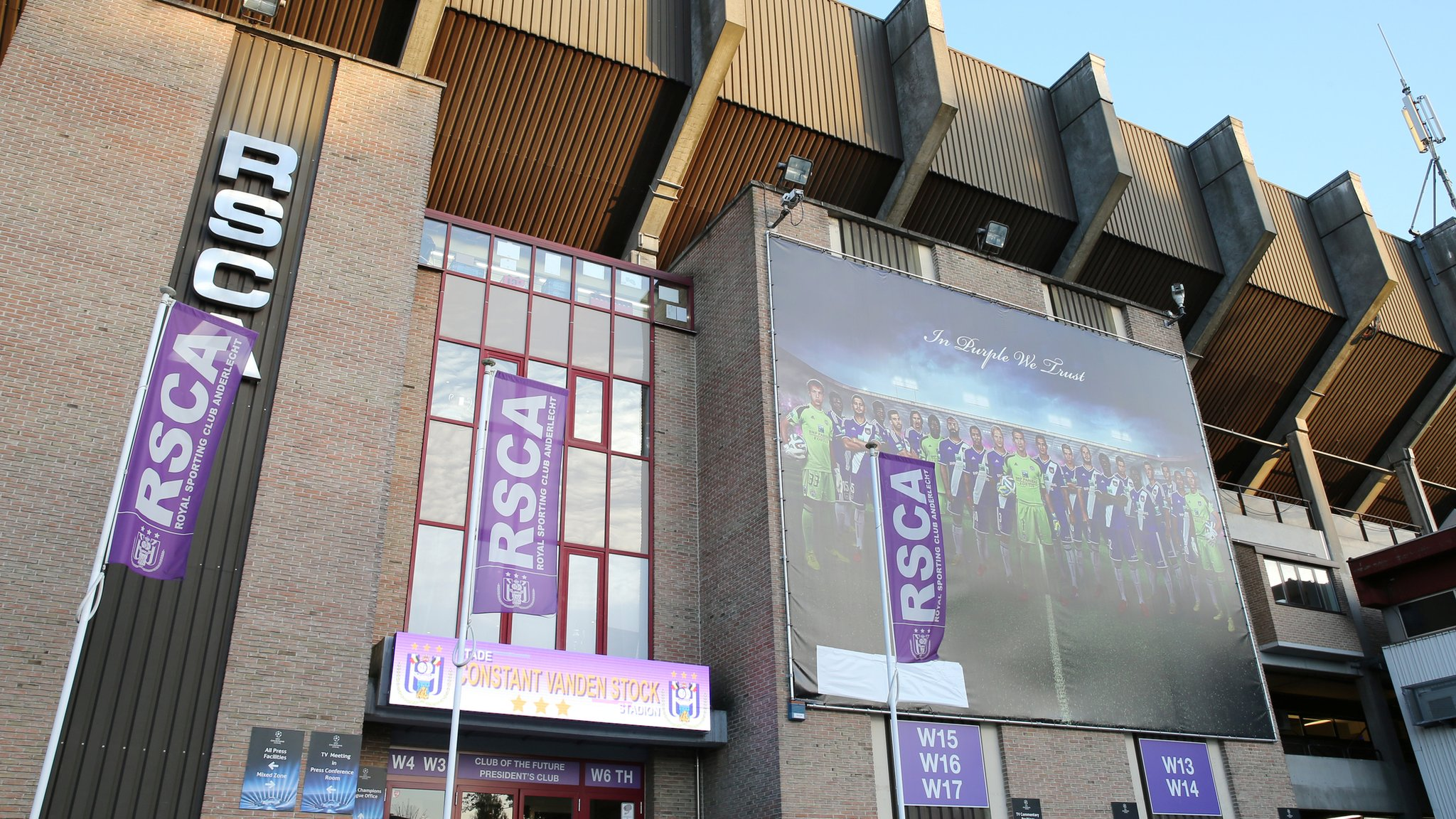 e1630fb6b29bbf Anderlecht and Belgian FA raided by police investigating money laundering -  Anderlecht and the Belgian FA are raided in connection with a  money-laundering ...