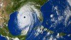 Hurricane Katrina - NASA satellite