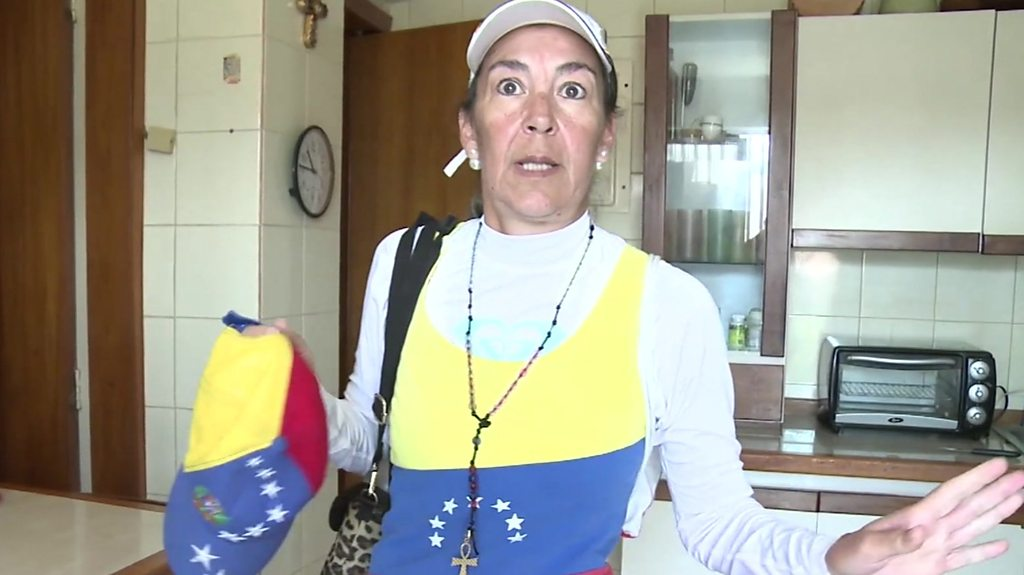 Venezuela: 'I'm fighting for my country'
