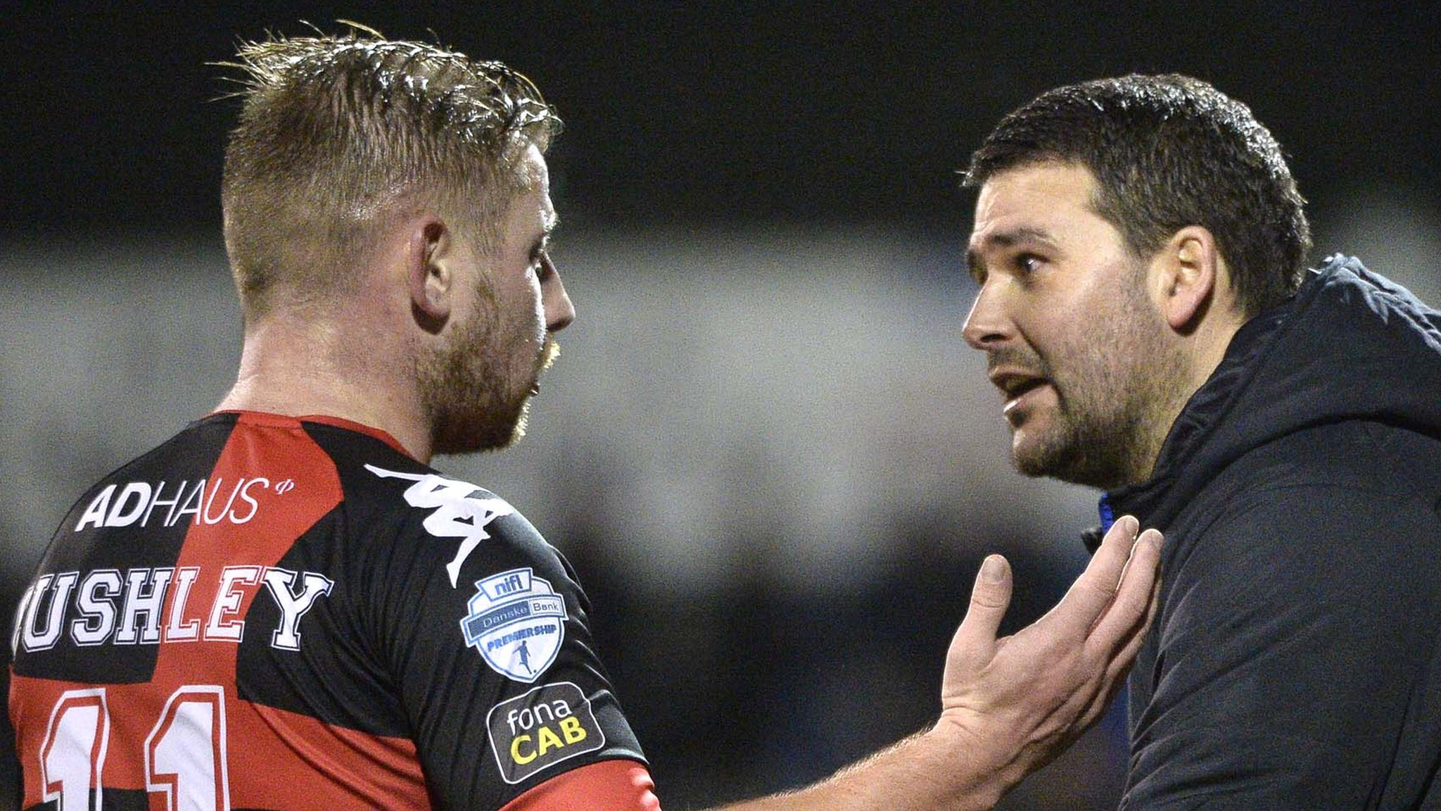 Linfield call on Irish FA to review refereeing after League Cup controversy