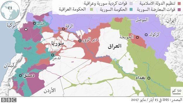 خريطة إقليم كردستان