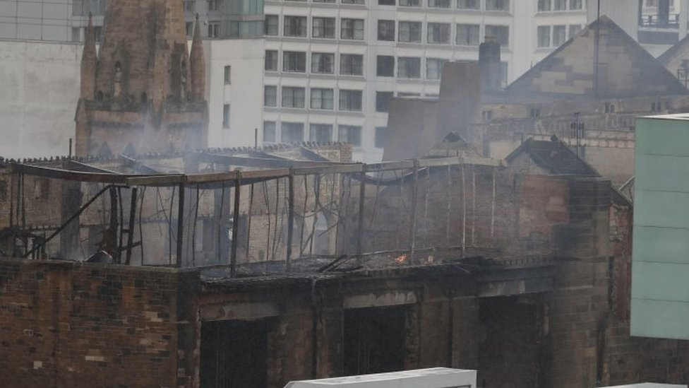 Glasgow art school blaze: Expert warns it may have to be demolished