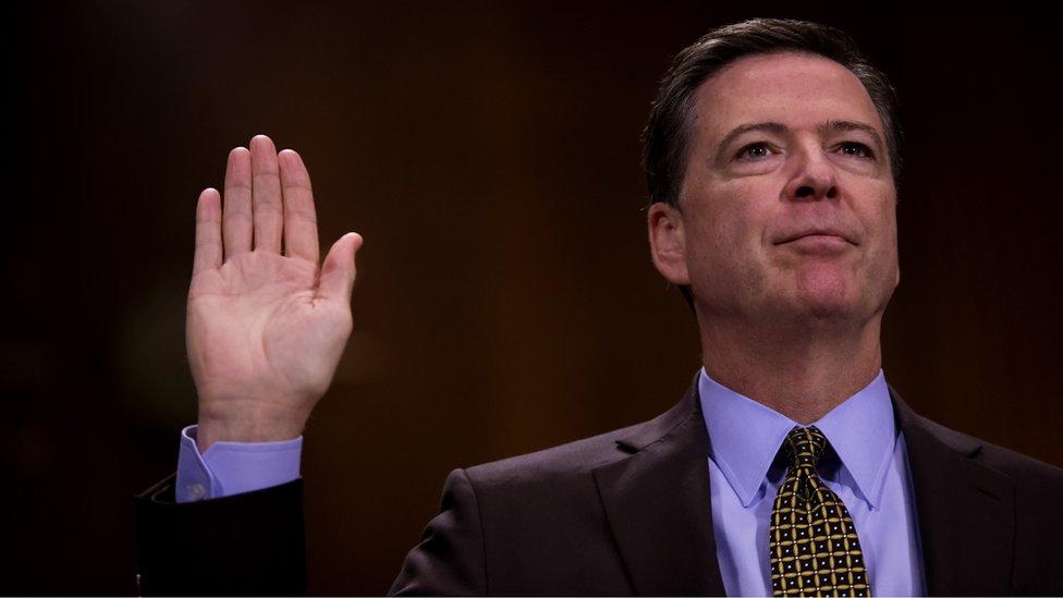 Las salida polémica de James Comey del FBI despertó las acusaciones de un impeachment