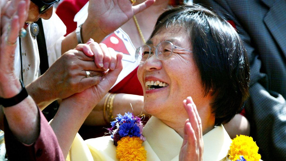 Everest's first woman climber Junko Tabei dies at 77