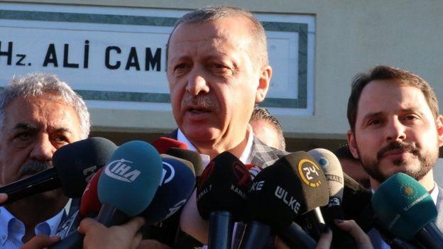 أردوغان: لولا الاحتلال لفتحنا سفارة في القدس الشرقية
