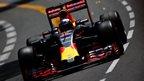 Ricciardo sets Monaco practice pace