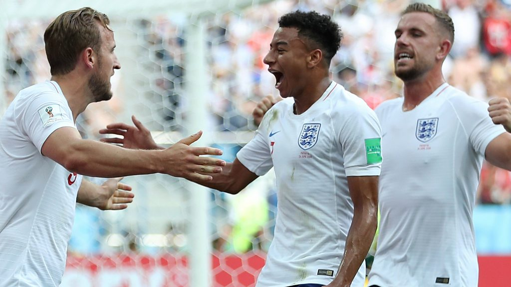 Watch: Lingard scores spectacular third for rampant England