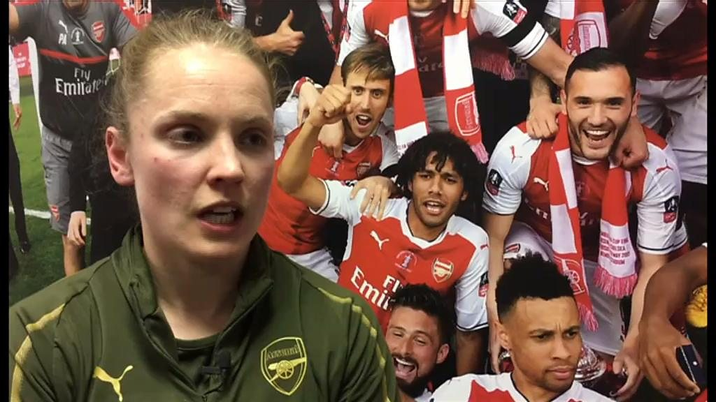 Women's League Cup final: Kim Little on Arsenal's 'great respect' for Man City | BBC