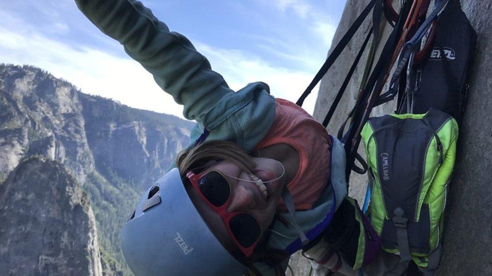Selah Schneiter: Ten-year-old girl scales El Capitan