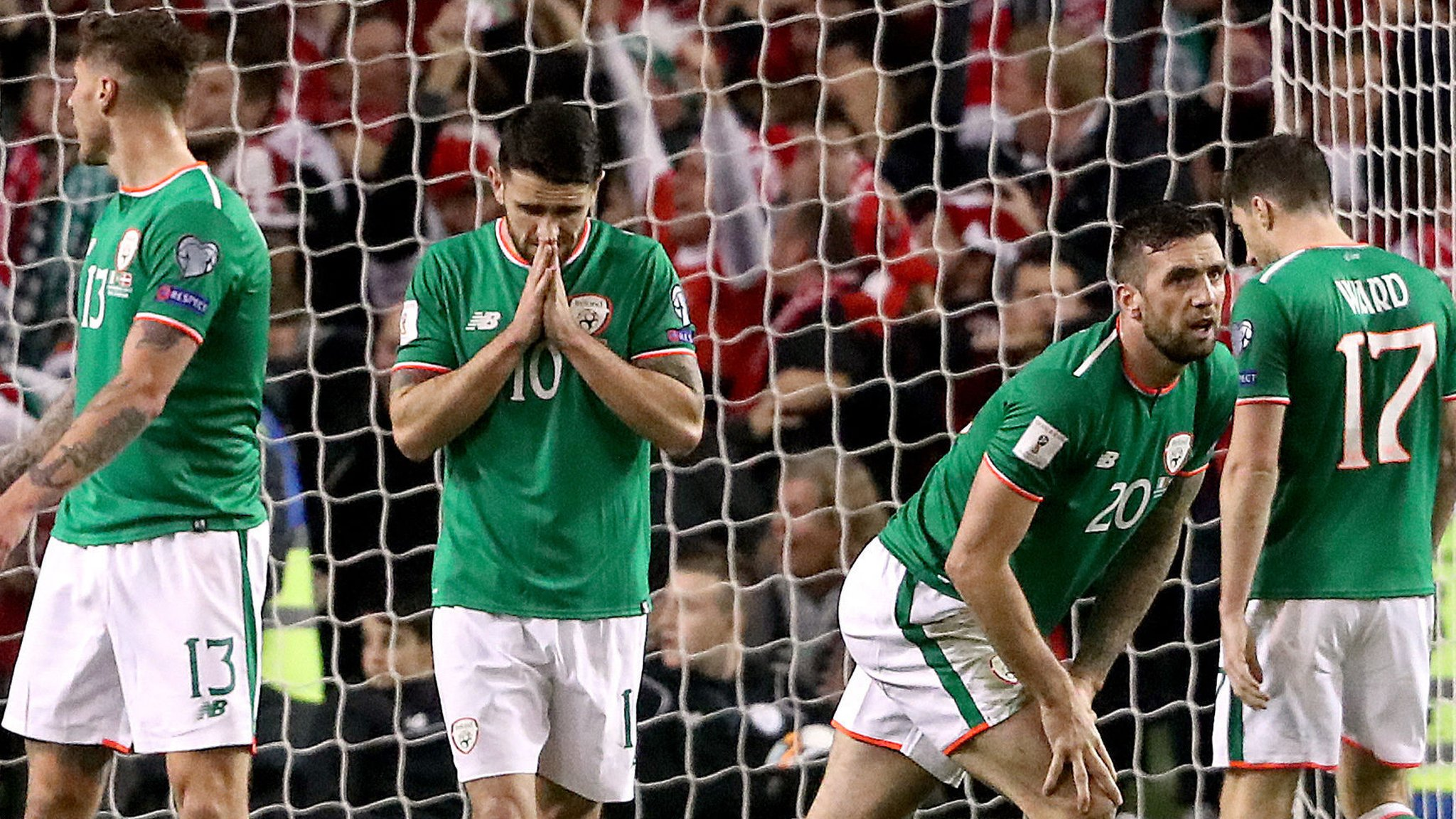 Republic of Ireland out of World Cup