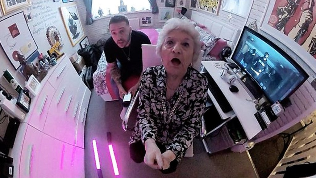 'Grime Gran': Margaret Keefe, 80, plugged into music scene