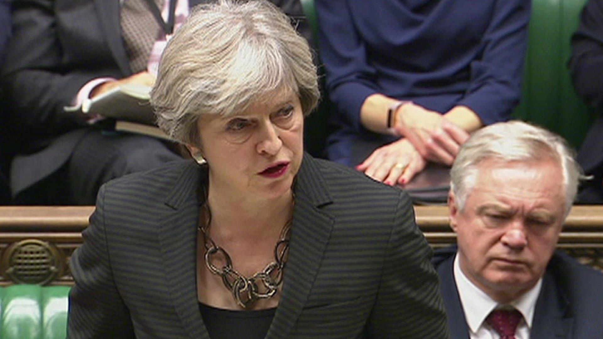 Brexit: Theresa May says 'important progress' made at EU summit