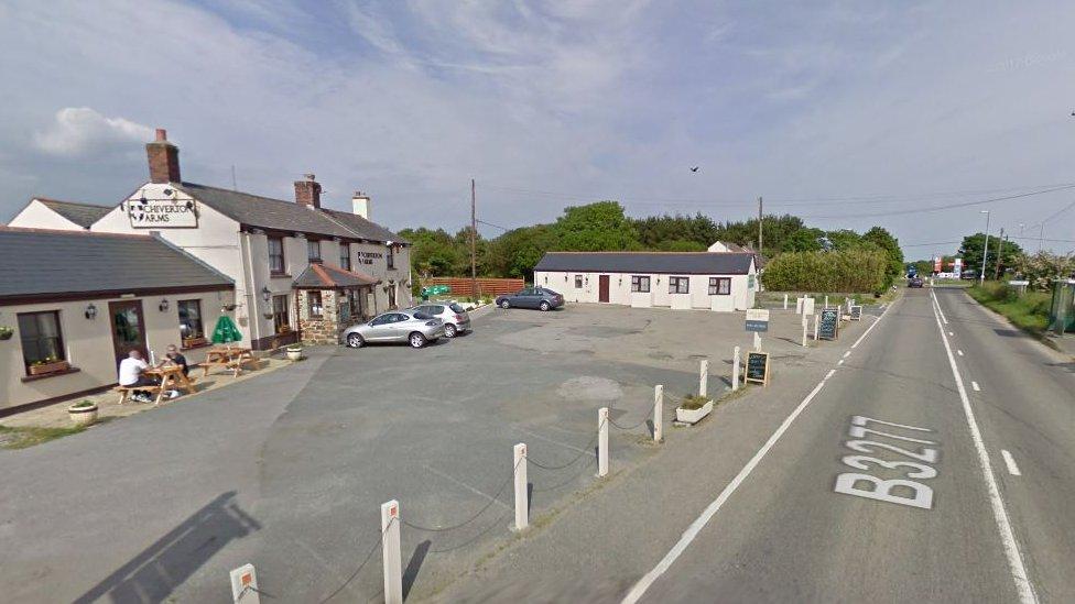Woman dies in two-car crash near Chiverton Cross