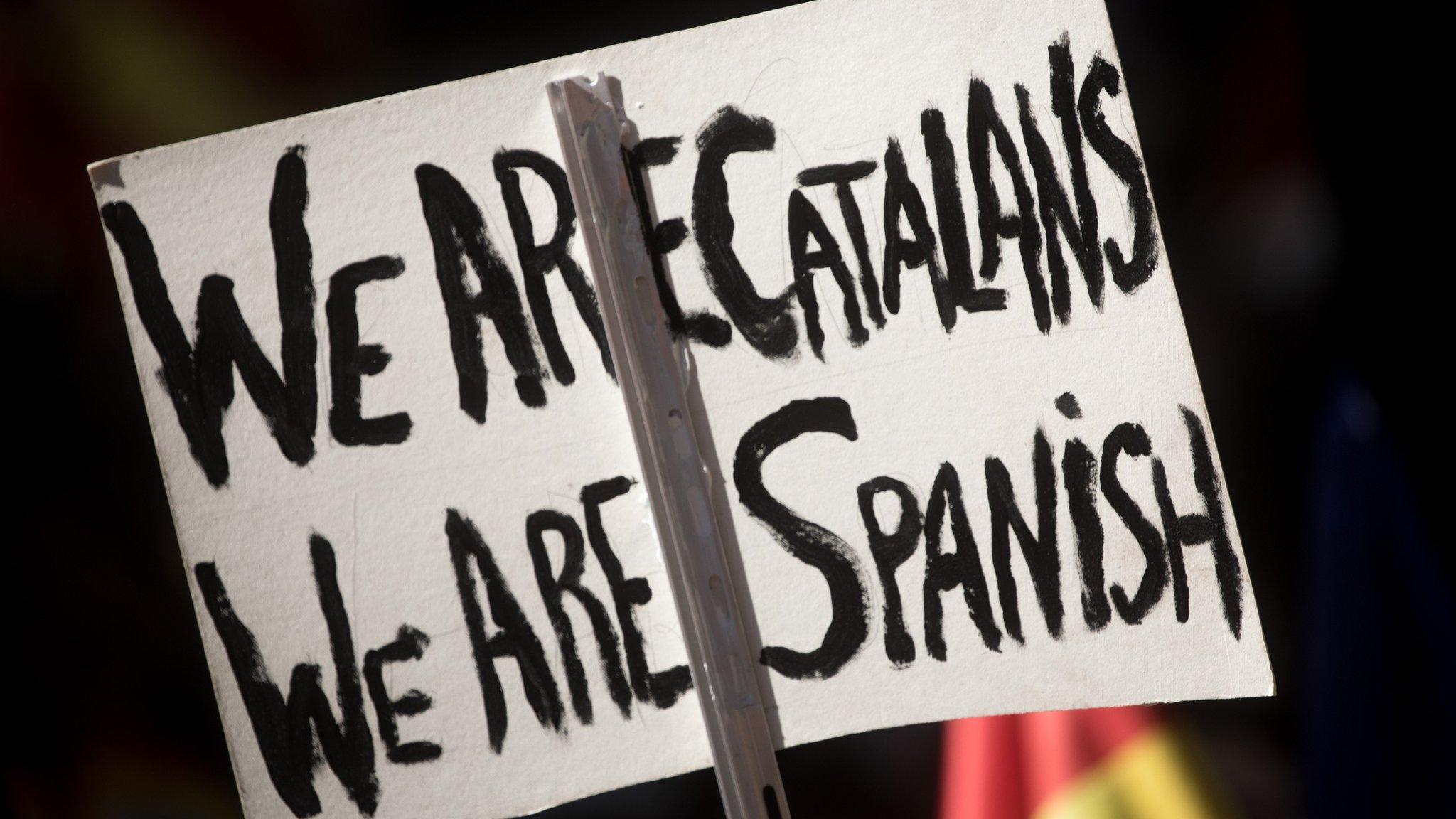 У Барселоні пройшла велетенська акція за державну єдність