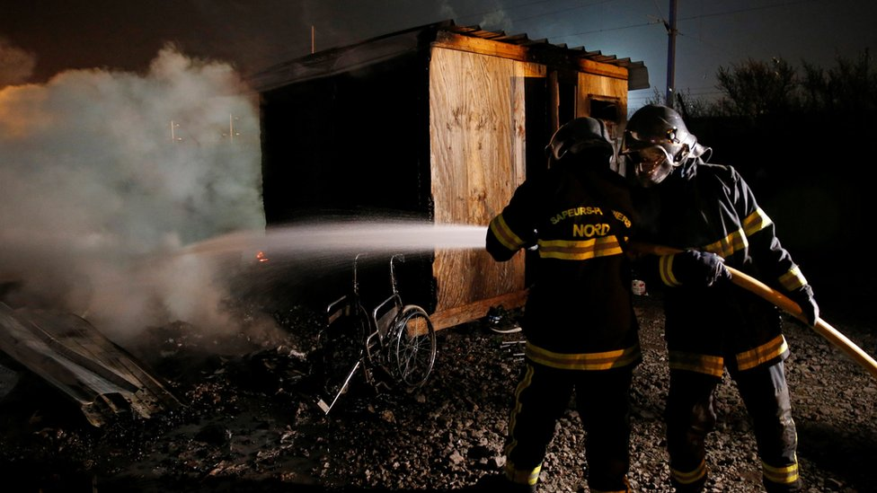 Incendio reduce a