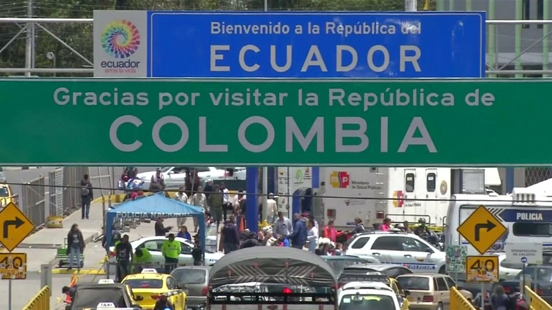 Venezuelan migrants stuck at Ecuador border