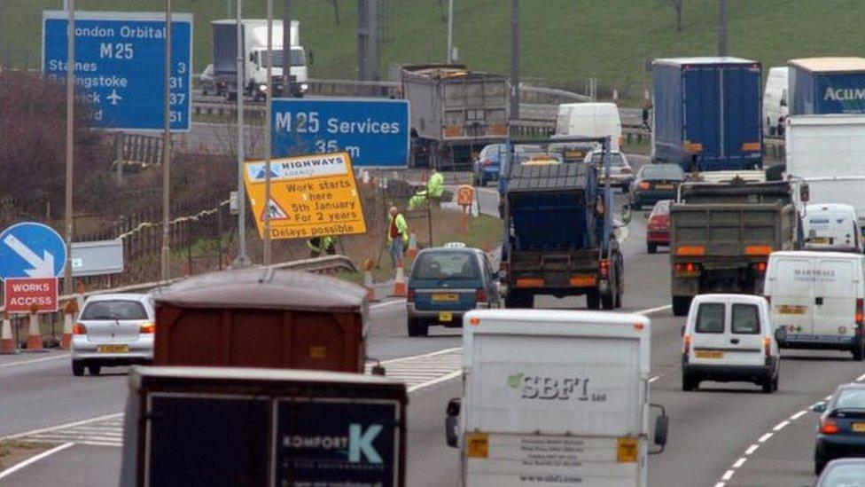 Motorway roadworks speed limit could be increased