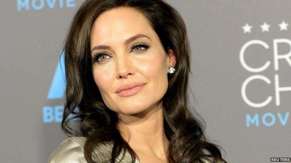 Angelina Jolie, actriz