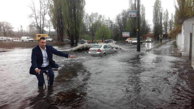 Mayor photoshopped in flood