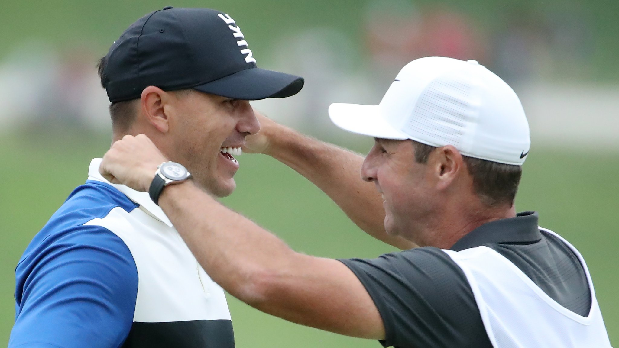 'What he's just done goes down in history' - caddie Elliott continues successful Koepka odyssey