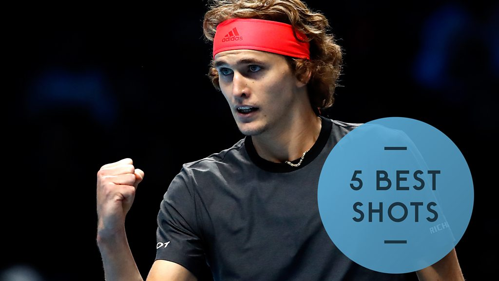 ATP Finals: Alexander Zverev is victorious in straight-sets win over Marin Cilic