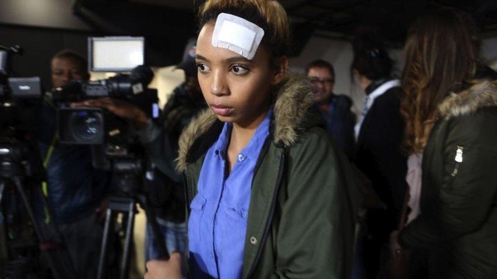 عارضة الأزياء التي زُعِم أن غرايس موغابي اعتدت عليها بالضرب