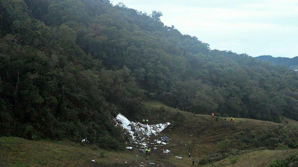 Colombia Chapecoense plane crash: What we know