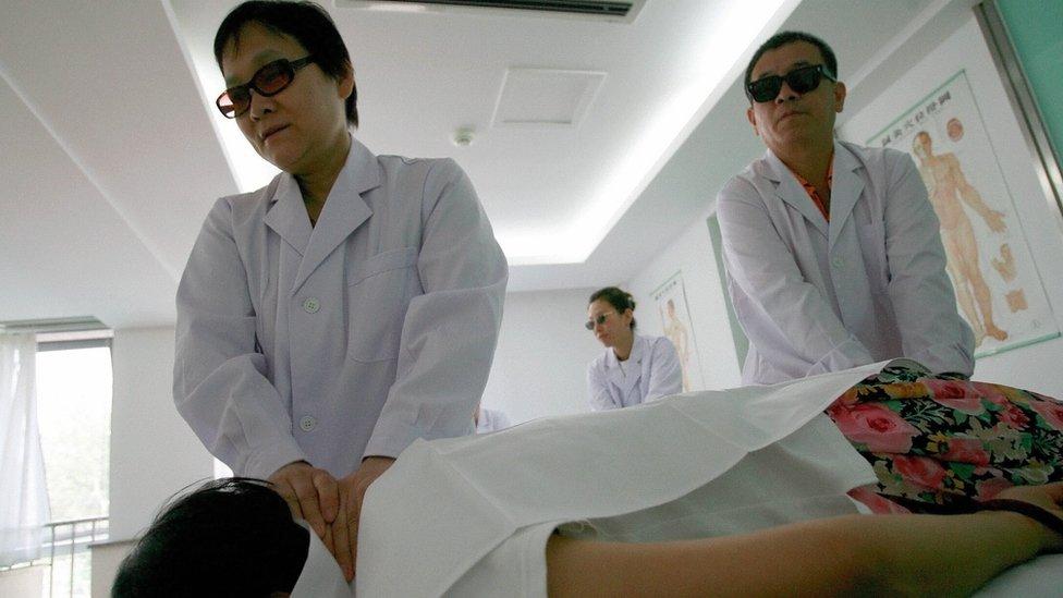 Resultado de imagen para invidentes masajistas corea del sur