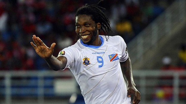 Dieumerci Mbokani: DR Congo striker withdraws from crucial Afcon qualifier