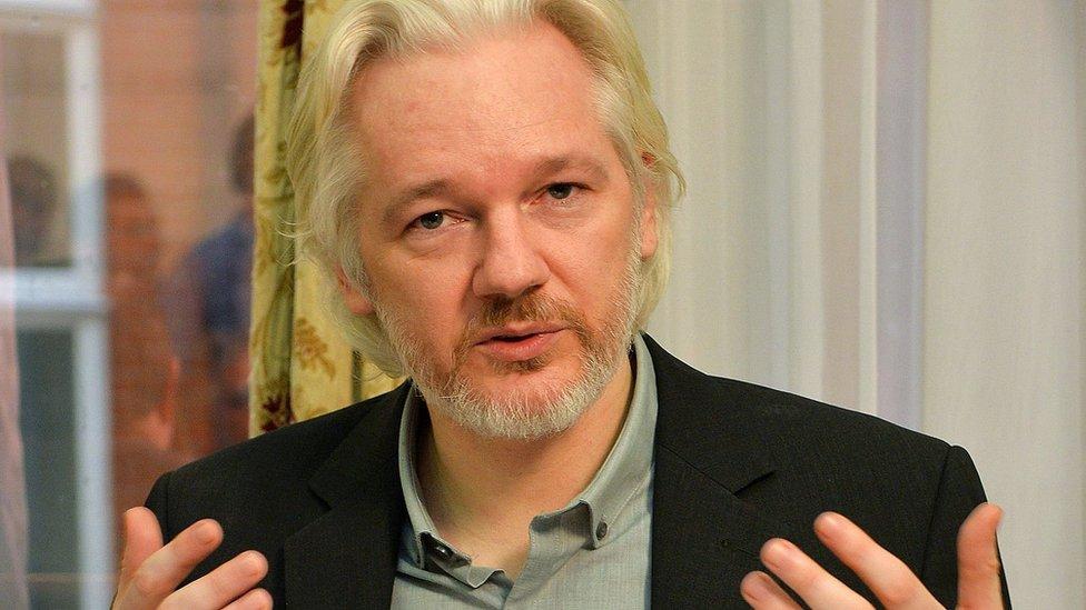 Julian Assange. Foto de archivo: Agosto de 2014