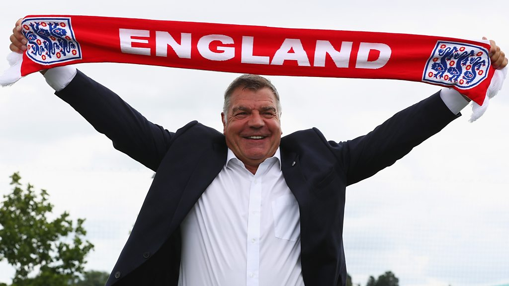 Sam Allardyce: Best bits from new England manager's unveiling