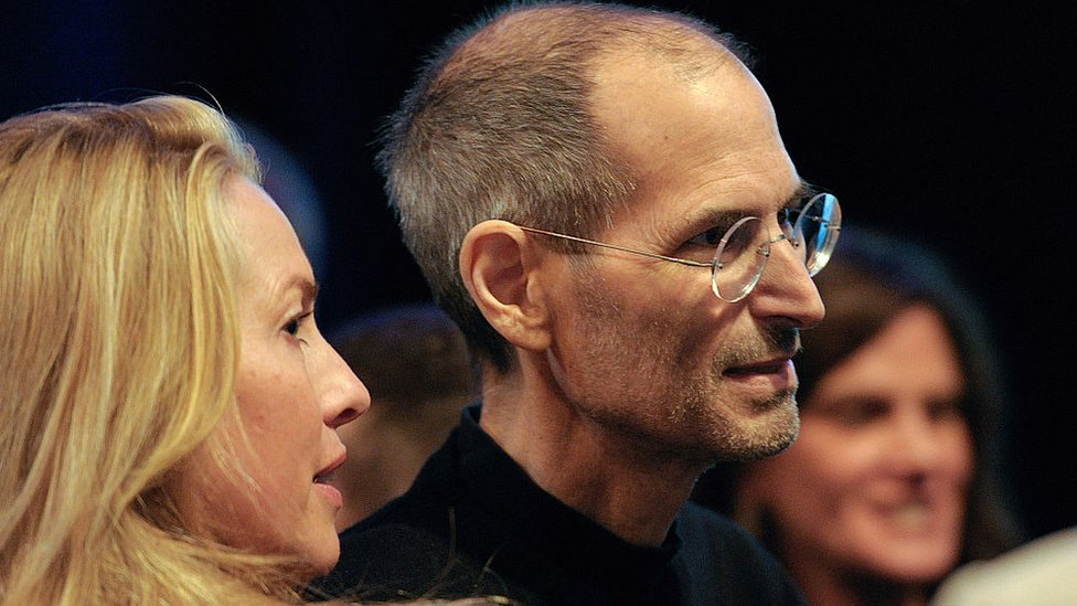 Laurene Powell se casó con Steve Jobs en 1991.