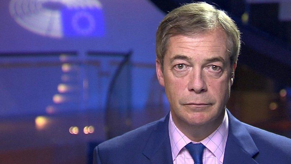 2019 European elections: Nigel Farage on UK taking part