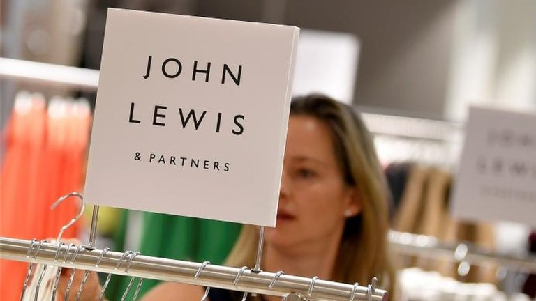 John Lewis profits slump 99% in 'challenging times'