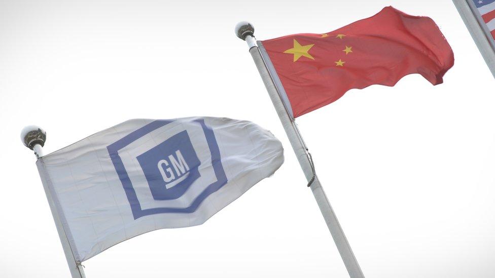 General Motors vende un 70% de carros más China de lo que hace en EE.UU.