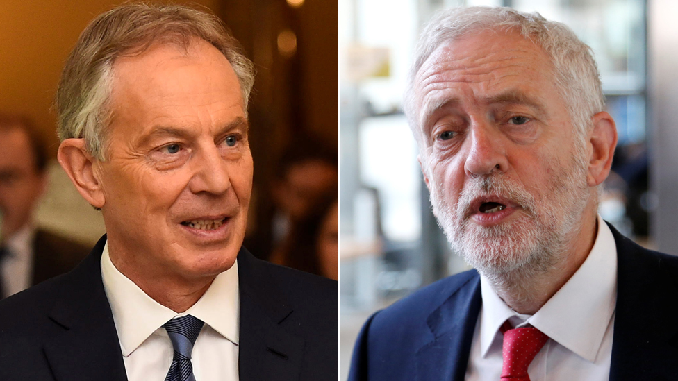 Follow Blair's stance on Labour rebels, Corbyn urged