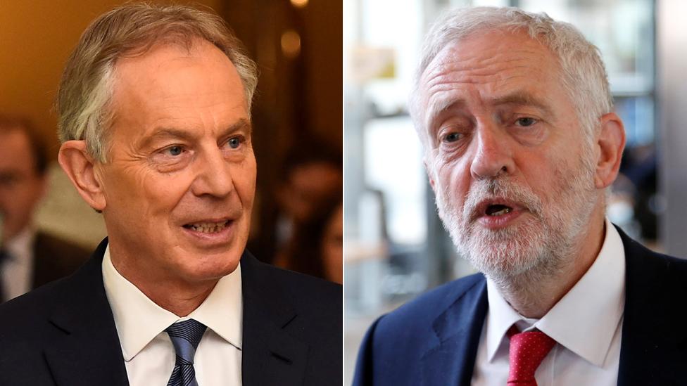 Follow Blair's stance on Labour rebels, Corbyn urged