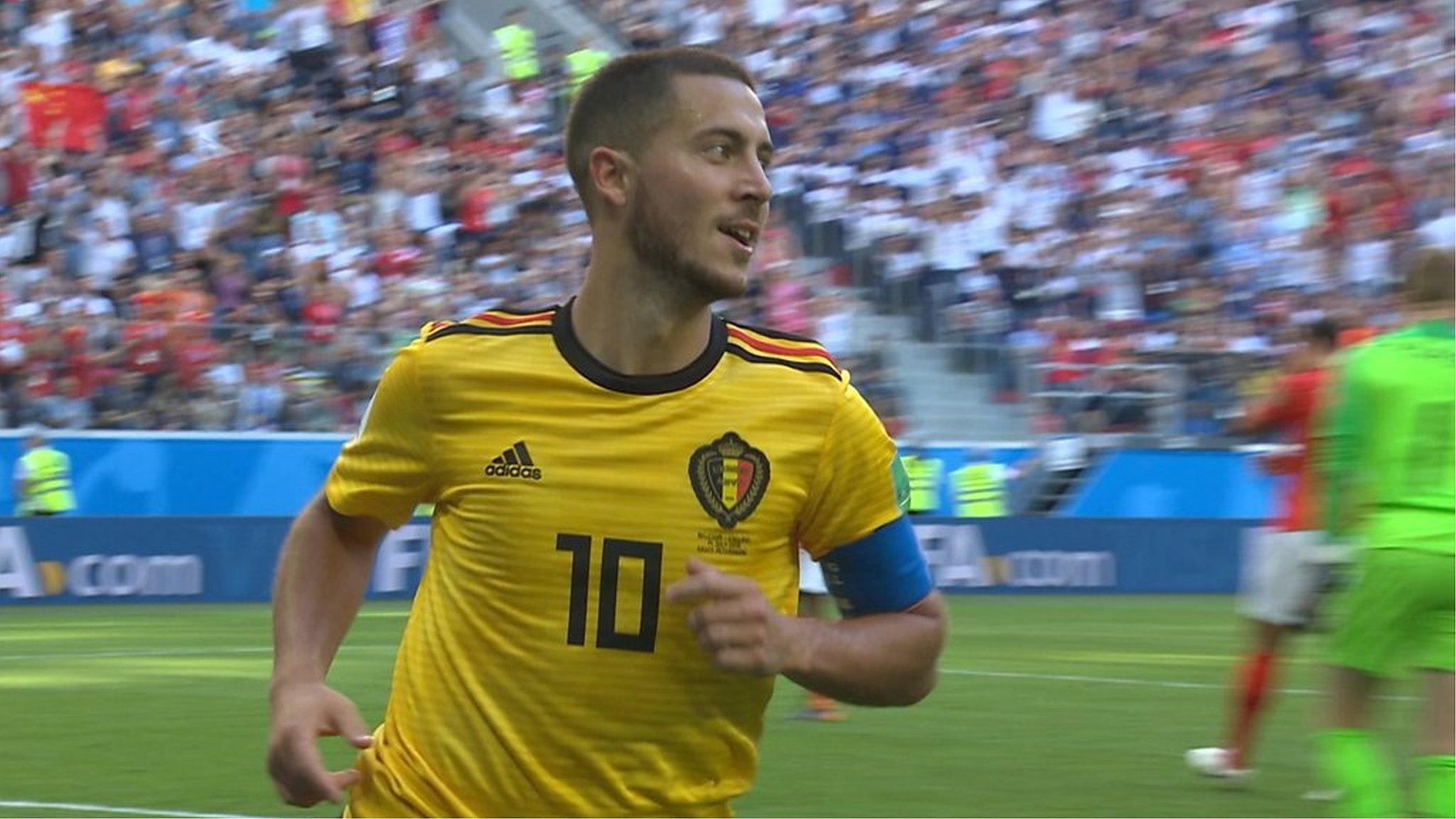 World Cup 2018: Eden Hazard breakaway goal seals victory for Belgium against England